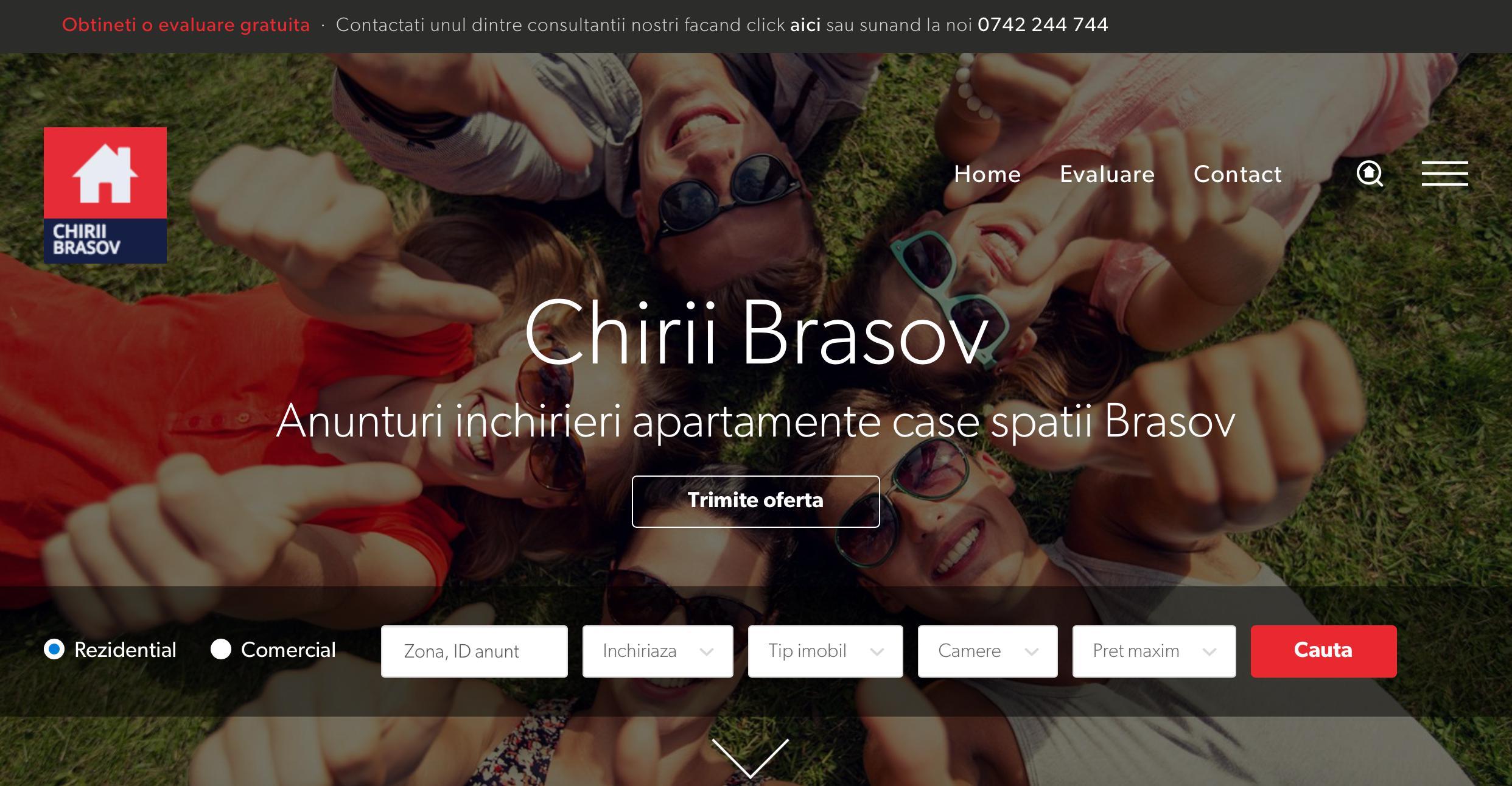 Chirii Brasov - Agentie Imobiliara Brasov de Inchirieri  - Chirii Brasov